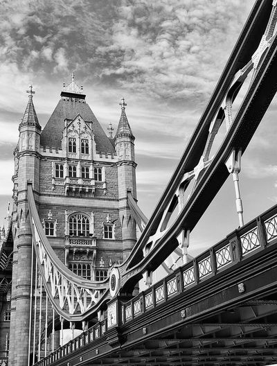 Tower bridge Walking Around London Black And White Tourist Attraction  River Thames Relaxation Taking Photos Outdoors London Attractions