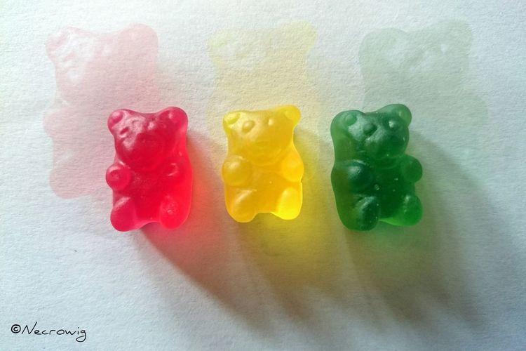 Mogul Bears Ositos Rojo Amarillo Verde Bolivia Gomitas