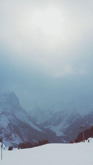 Savoie Neige ❄ Neige❄ Neige Montagnes 🌲🍃 Montagnes Pralognan La Vanoise PralognanMontagne Brouillard